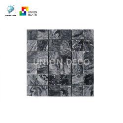 浴室Decoのための自然な正方形の形の大理石のモザイク模様