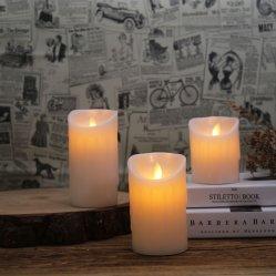 Venda de Velas LED Flameless quente para festas de aniversário ou uso doméstico com a cor RGB e barato preço
