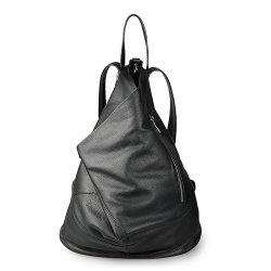Pele genuína Back Pack Soft Cowhide Moda Saco mochila de Viagem