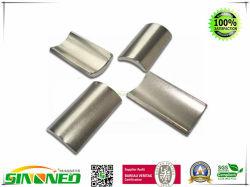 Настраиваемые Strong сегмент NdFeB постоянные неодимовые магниты дуги
