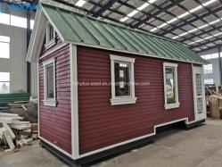 Larga vida útil Fully-Equipped completaron la decoración el bastidor de acero prefabricados casas modulares para las vacaciones/hoteles/Residenciales