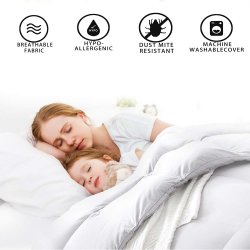 La buona oca di lusso 100% di sonno giù imbottisce