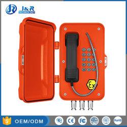 産業用 VoIP 防爆鉱業用電話、石油・ガスステーション用本質安全電話