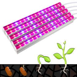 Rouge Bleu Spectre 18W 36W T8 Tube 4FT grandir la lumière à LED pour l'intérieur des plantes