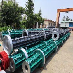 Shengya hormigón completa poste eléctrico que hace la máquina