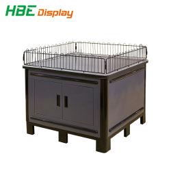 Metalen houten opvouwbare Promotietafel met verstelbare voeten