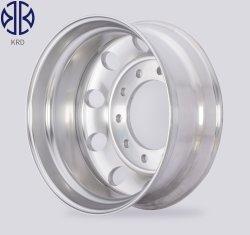 Cerchio per autocarri con scarico in lega di alluminio forgiato 22.5X8.25