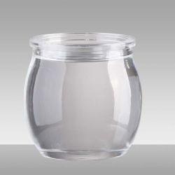 Vuelta el frasco de cristal con tapón de rosca 5 ml/10 ml/15 ml/20 ml frasco de loción de vidrio de botella de vidrio envases Cosméticos Cosméticos Cosméticos Jar