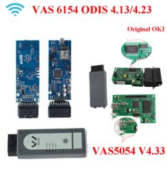 2018 Best Odis 4.33/4.23/4.13 GO 5054A Full Chip with Oki VAS5054A Bluetooth GO 6154 Odis VAS6154 WiFi VAG Diagnostic Tool