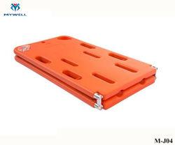 M-J04 nuevo plástico de rescate de emergencia de inmovilización de rayos X de la junta de la columna vertebral para niños
