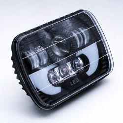L'angelo capo automatico luminoso eccellente della lampada 7inch del LED Eyes il faro fuori strada dell'automobile 5X7 LED del camion della jeep di DRL 4X4