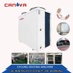 convertitore aria-acqua della pompa termica di Evi di alta efficienza 11.2kw-175kw con i contrassegni di energia dell'Europa