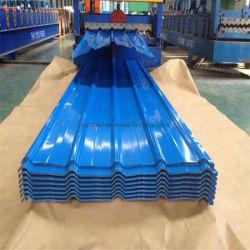 Economico usato tipi di metallo di Roofing foglio dimensione peso corrugato Prezzo lamiera di copertura in acciaio galvanizzato