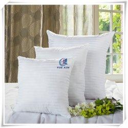 Tissu de coton blanc polyester de remplissage personnalisés Standard Hôtel oreiller insérer