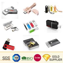 高速長方形形状防水スイベル OTG ペンドライブミニシークレットスティック 4 ~ 128GB 永遠の保管木製プラスチック金属合金フラッシュドライブメモリ USB ディスク 3.0