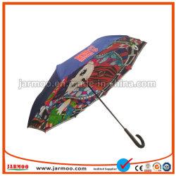 Hot Sale événement sportif coloré Multi-Color Parapluie de golf