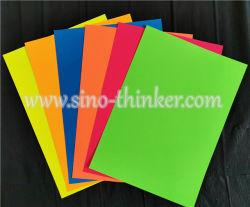 Карта Fluorexcent 80-250бумаги GSM флуоресцентные цвета бумаги, неоновыми бумаги для печати и местных умельцев