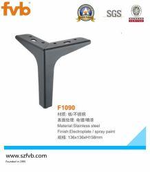 Cromo pulido de metales Vitrina armario Mesa muebles Sofa pies piernas