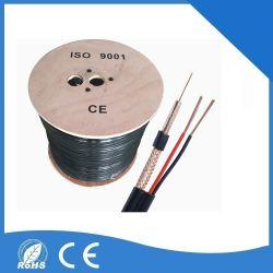 Câble coaxial RG59+Power RG59+2c Rg5+2p RG59+DC Siamois ou Combo Utilisation de caméras CCTV