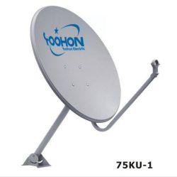 Band 75cm van Ku de Openlucht SatellietSchotel van de Antenne van TV van de Antenne van de Schotel