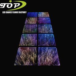Цветные лампы 3D-LED бесконечности наружного зеркала заднего вида пола плитки