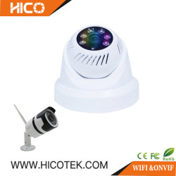IP66 de waterdichte MiniKogel van IRL van de Straat en de BinnenIP van de Veiligheid van het Huis van kabeltelevisie van WiFi Onvif van de Koepel Slimme Camera van het Alarm