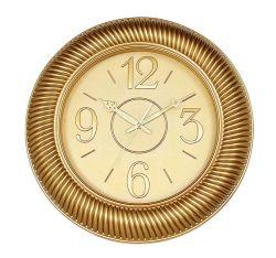 Красивый дизайн золотистым цветом большой индийском стиле Настенные часы