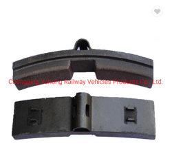 Meilleur Prix mâchoires de frein composite conçu pour les wagons de chemin de fer