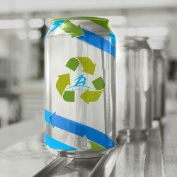 180ml/200ml/250ml/330ml/355ml/473ml/500ml svuotano le latte di alluminio stampate abitudine per l'imballaggio