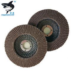 P80 4pol econômico Grit T29 T27 Óxido de Alumina em fibra de vidro abrasivos de backup de disco da roda da borboleta