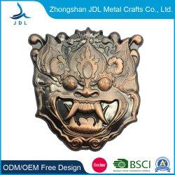 Esmalte de papel plano Dom promocionais por grosso de fábrica Corda de alumínio para venda exército o pino presilha (441)