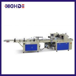 Simple rangée coupe-papier en plastique jetables de comptage automatique Machine d'emballage
