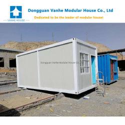 Modernes bewegliches hergestelltes modulares Zwischenlage-Panel-vorfabriziertes Behälter-Haus