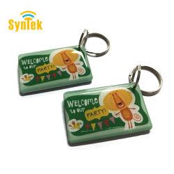 Resistente al agua RFID 125kHz etiqueta em4305 Llavero copiar discos regrabables Em Keyfobs ID Card