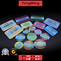 Акрил Crystal / Pokerchips Bronzing Короны; казино микросхем Custom (YM-CP003-004)
