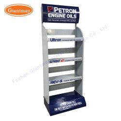 Affichage d'huile moteur populaire étagère rack Stand Soins pour la voiture de métal