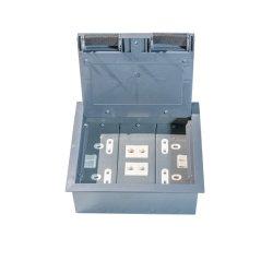 Plástico de PVC y la Caja Eléctrica Planta de verificación para el suelo de madera y piso de acero&piso de concreto