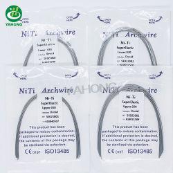 Produto de ortodontia Dental Archwire Niti flexíveis fios dentários