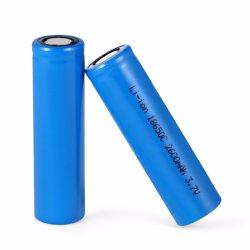 공장에서 직접 판매 18650 Powertech 고가율 방전 리튬 이온 노트북 RoHS 배터리, MSDS, ISO, Un38.3 인증서
