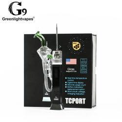 G9 inovador produto fumar melhor grossista portátil o logotipo personalizado e cigarro erva seca vaporizador de Cera de feltro