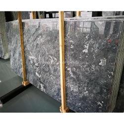 Pierre gris foncé à noir/blanc/marron carrelage de marbre naturel/dalle/comptoir/Plan de travail/Mosaic/cheminée pour cuisine/salle de bains/décoration