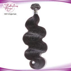 Естественный цвет волос волосы Weft Virgin модного тела волосы кривой