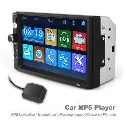 """7 """" des Screen-2-DIN des Auto-MP5 Auto-DVD-Spieler Spieler-BT-GPS mit Fernsteuerungs für Auto-Audio"""