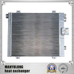 Алюминиевую пластину ребра радиатора на масляный компрессор с водяным охлаждением