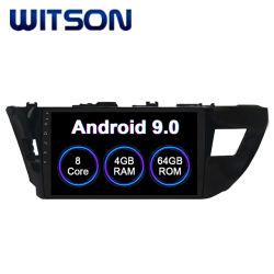 Radio van Auto 9.0 van Witson de Androïde voor het Grote Scherm van de Flits van de RAM van de Bloemkroon van Toyota 2014-2016 4GB 64GB in de Speler van de Auto DVD