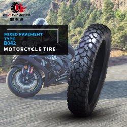 20 ans ISO9001/moto personnalisée en usine moteur /Motocross Pneu tubeless en caoutchouc/Tube/modèle mixte de pneus moto Pneus/B042 de pneus 110/90-16 110/90-17