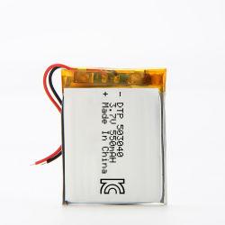 503040 550mAhによって証明される3.7Vリチウムポリマー電池
