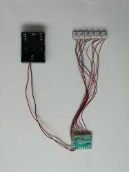 Helle blinkende Baugruppe, LED-blinkendes Licht, Blinkenbaugruppe, LED-Verdrahtung