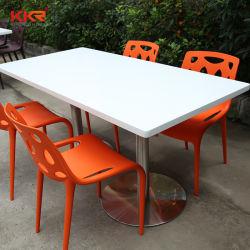 Твердая поверхность круглый обеденный стол для домашних хозяйств и гостиницы