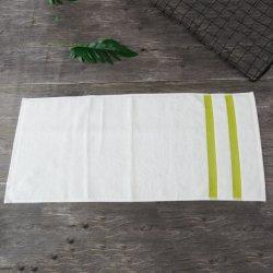 Le tissu éponge de gros cadeau blanc Serviette blanchis